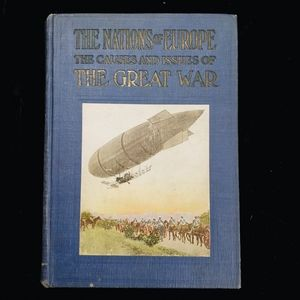 History book about WWI written in 1914